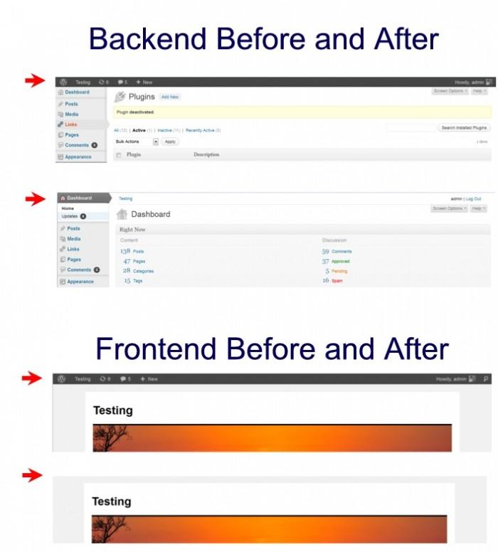 wordpress-remove-toolbar