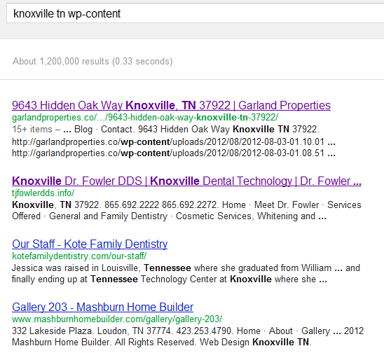 WordPress Knoxville TN wp-content - Google Search