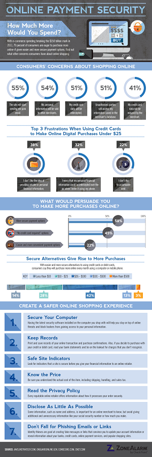An Infographic On Online Payment Security