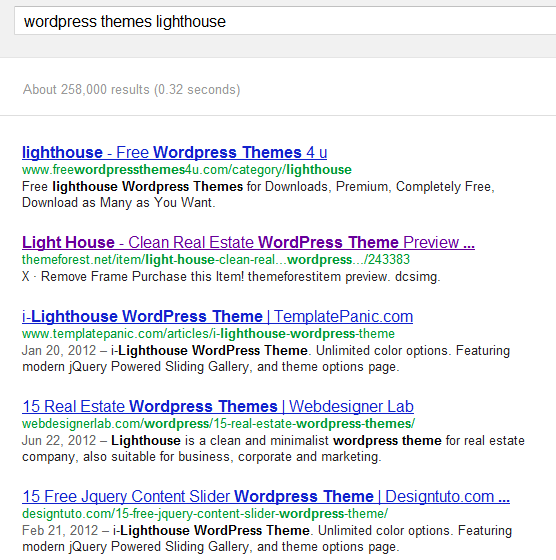 wordpress themes lighthouse - Google Search