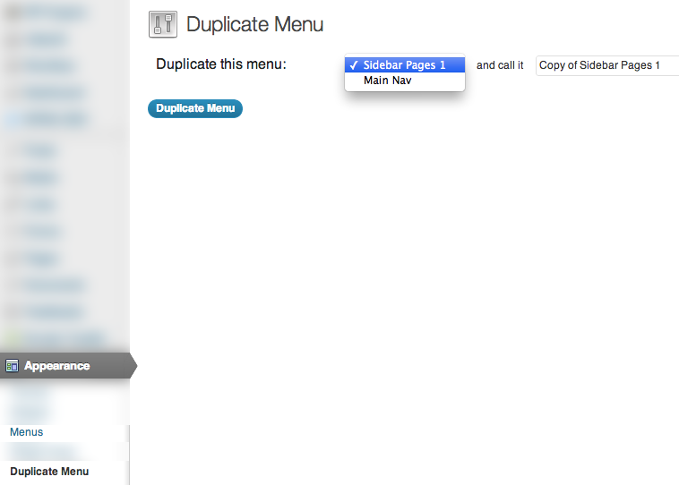 3 - How to Duplicate a WordPress Menu