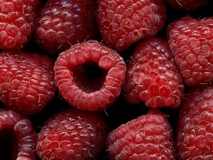 Raspberries, naturally