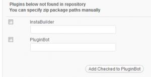 PluginBot - Adding Premium Plugins