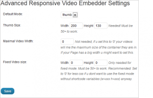 Responsive WordPress Plugins - Advanced Responsive Video Embedder