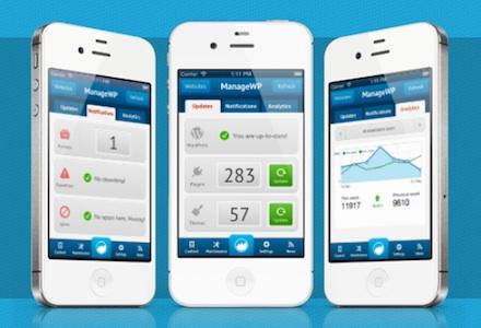 The ManageWP iOS App
