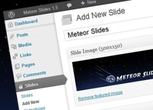 Responsive WordPress Plugins - Meteor Slides Add New
