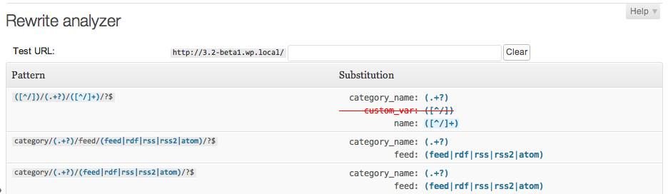 Monkeyman Rewrite Analyzer plugin - screenshot 1