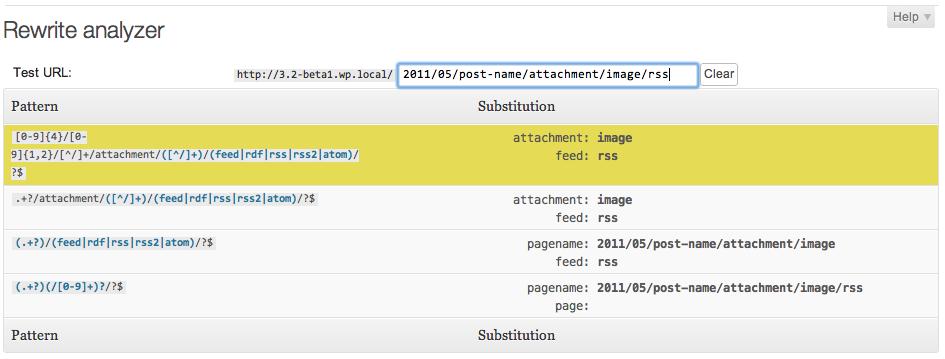 Monkeyman Rewrite Analyzer plugin - screenshot 2
