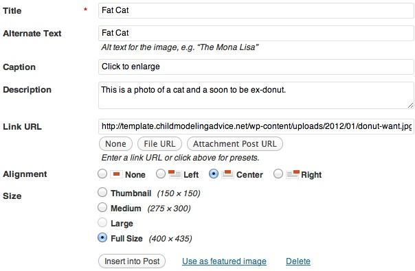Image Meta Data
