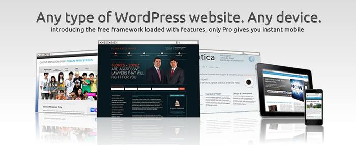 Ashford WordPress framework