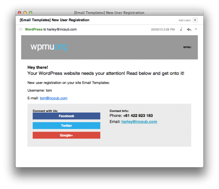 Make WordPress Emails Pretty And Responsive With WPMUDEVs New - Pretty email templates