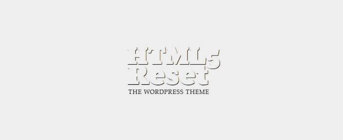 HTML5Reset framework