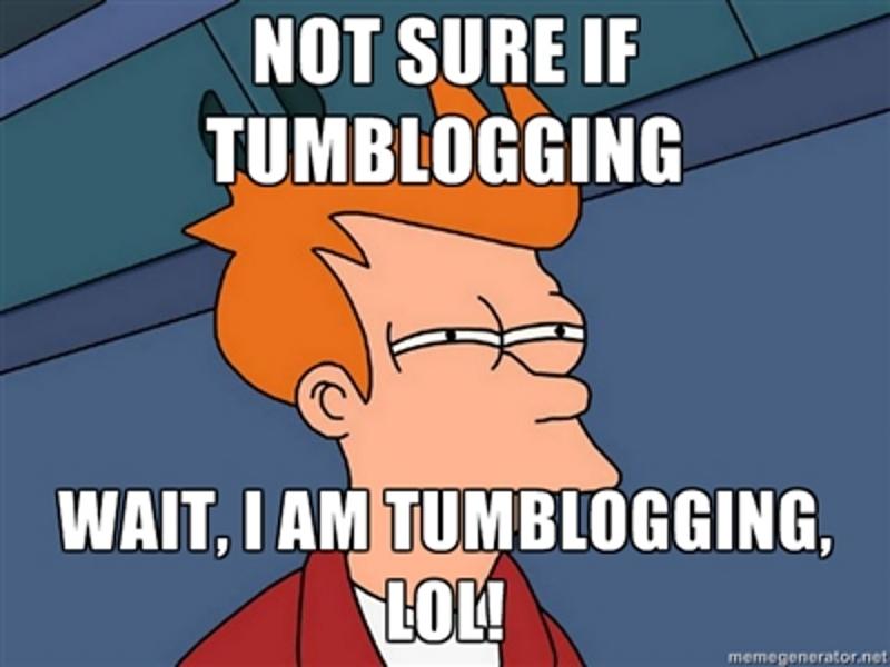 tumblogging
