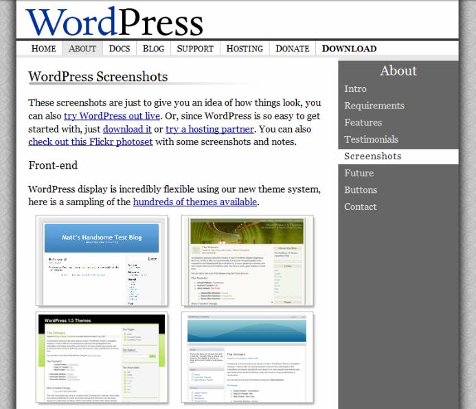 2005-theme-screenshots