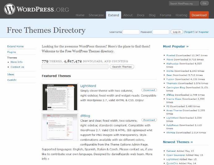 2009-theme-screenshots
