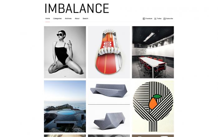 Imbalance WordPress theme