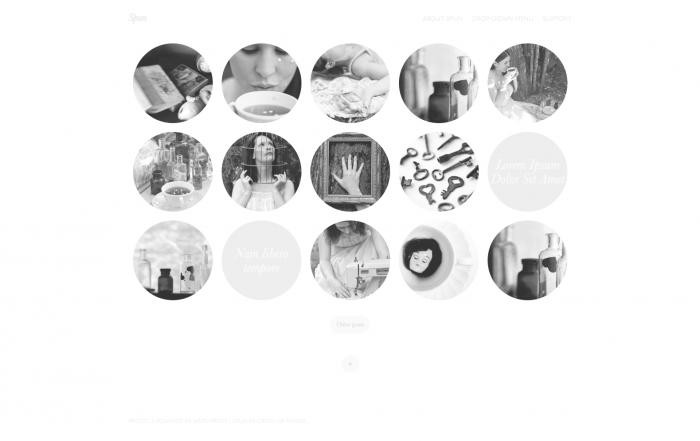 Spun WordPress theme