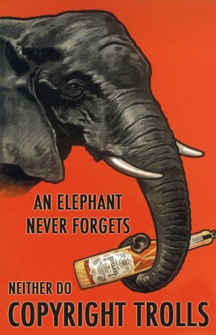 An elephant never forgets copyright