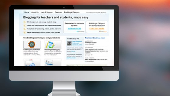 Edublogs Homepage
