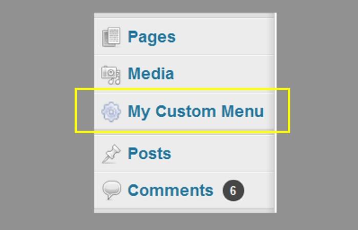 admin-menu-editor-custom-menu