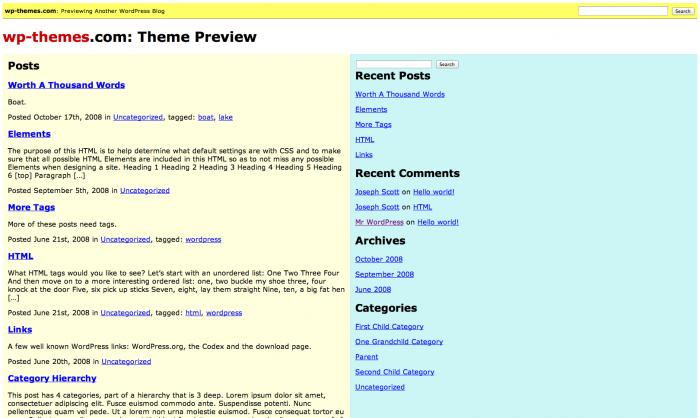 Jakobian WordPress theme