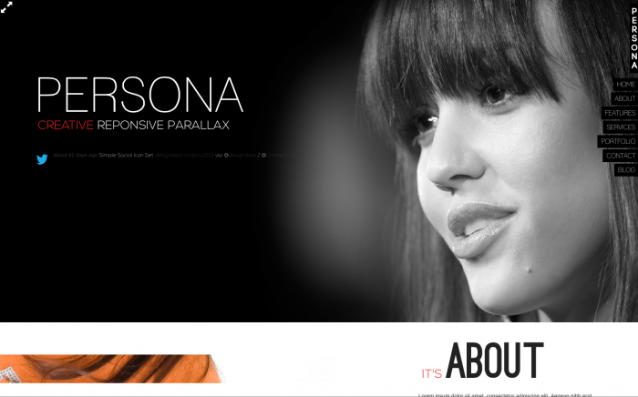 Persona WordPress theme