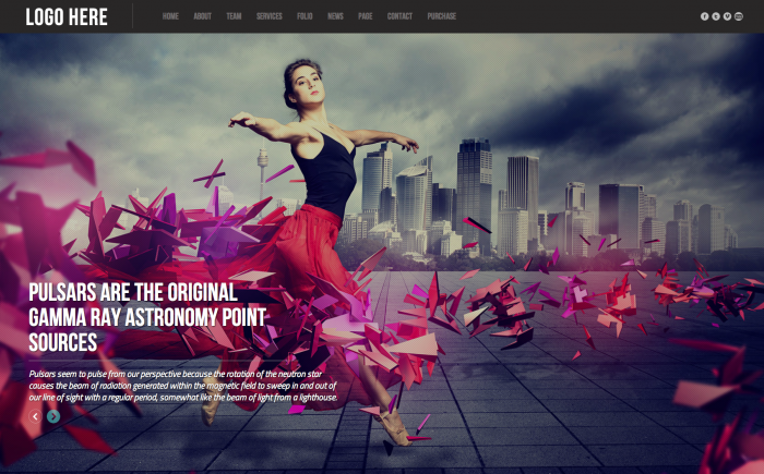 Pulsar WordPress theme