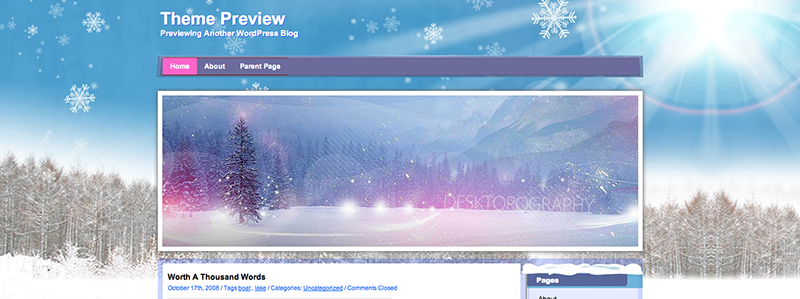 winter-wordpress-theme