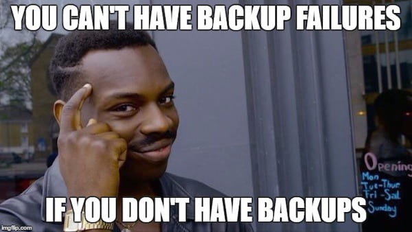 Backing up your multisite is incredibly important
