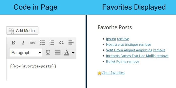 favorites-page