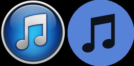 iTunes icons