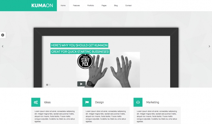 Kumaon flat WordPress theme