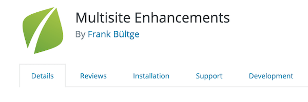 A look at multisite enhancements the handy WordPress Mutlisite plugin