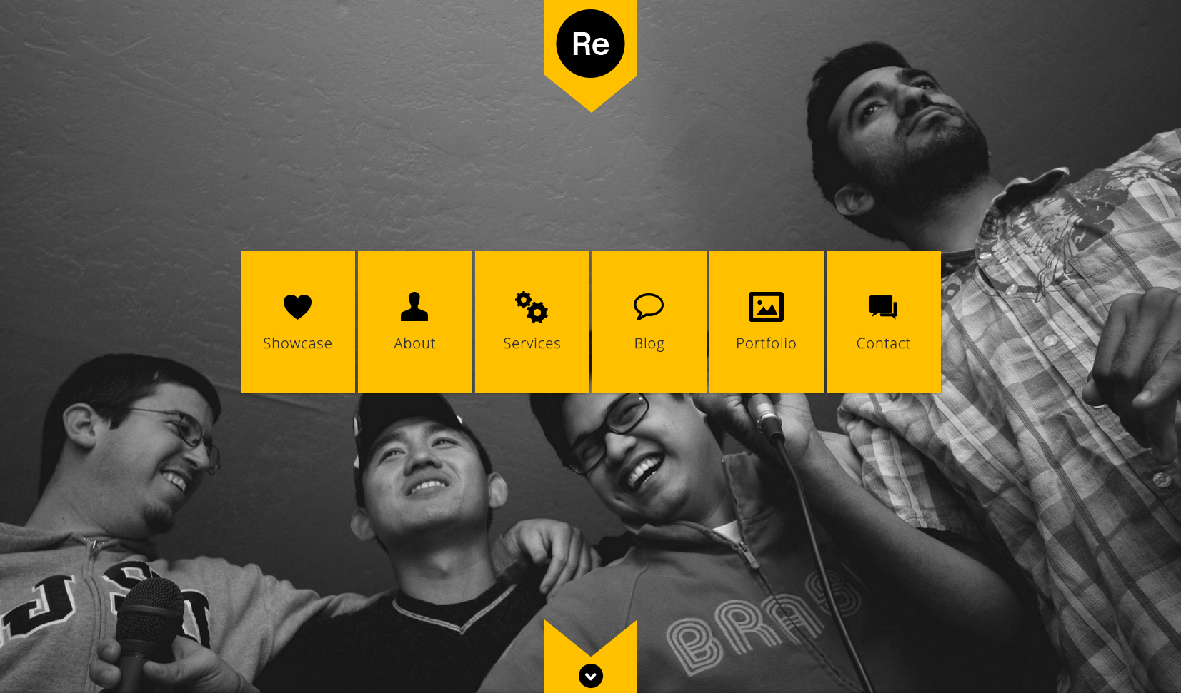 Renova flat WordPress theme