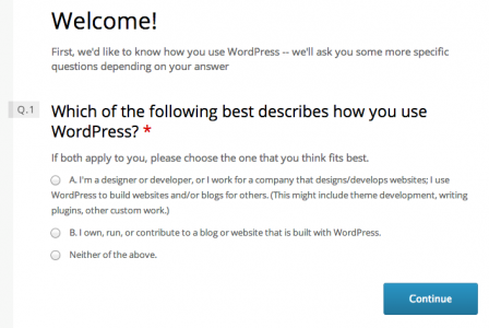 WordPress 2013 Annual Survey