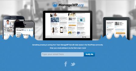 ManageWP teaser