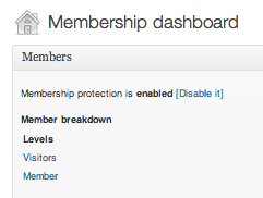WPMU DEV Membership enable