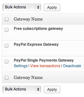 WPMU DEV Membership payment gateways