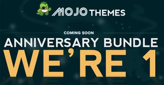 Mojo Themes Anniversary Banner