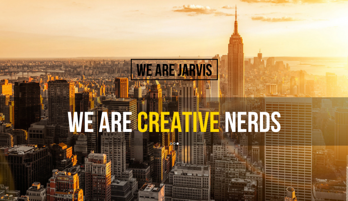 Jarvis colorful WordPress themes