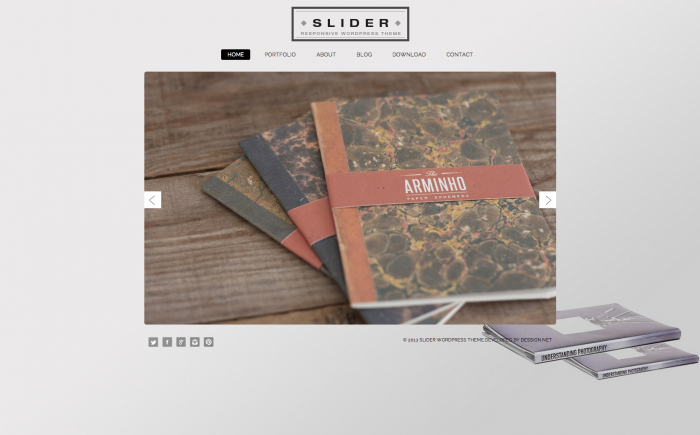 Slider WordPress theme