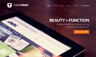 Theme Trust homepage