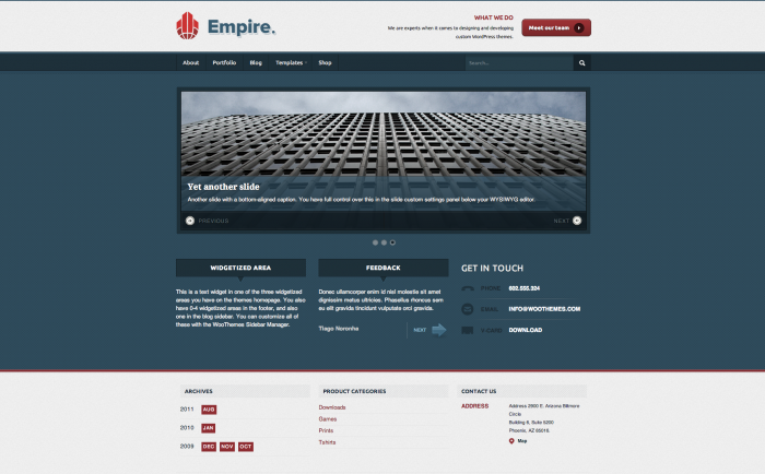 WooThemes Empire