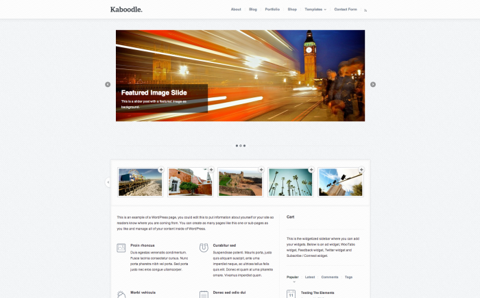 WooThemes Kaboodle