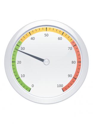 A round range gauge
