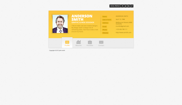 Zwin colorful WordPress theme