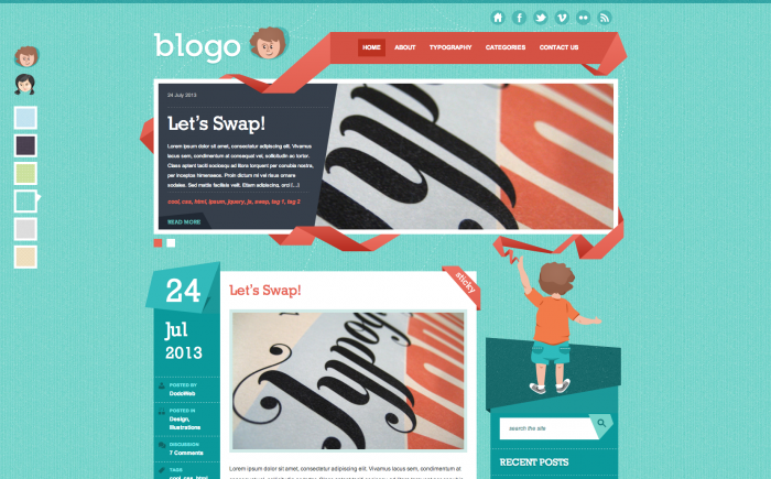 Blogo WordPress theme