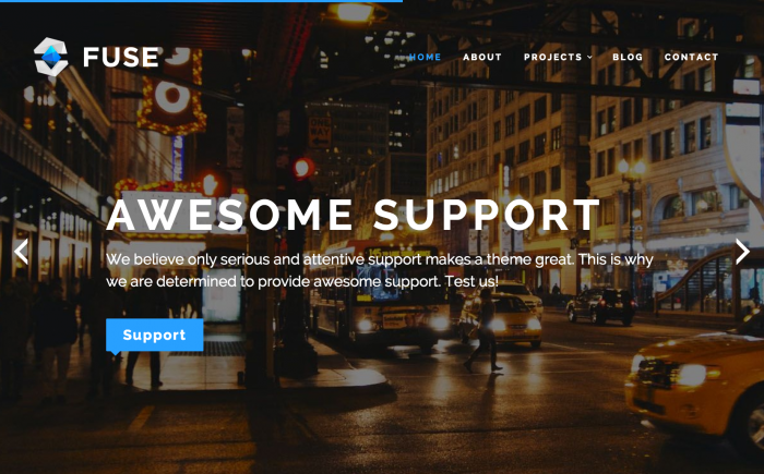 Fuse WordPress theme