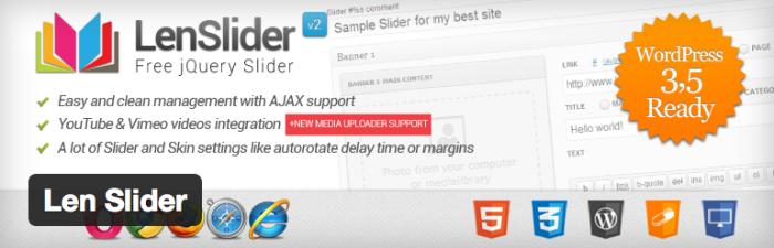 LenSlider plug-in