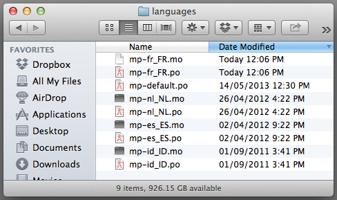MarketPress language codes